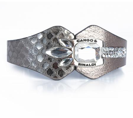 Cango&Rinaldi Lilly 05k Antracit-ezüst Karkötő