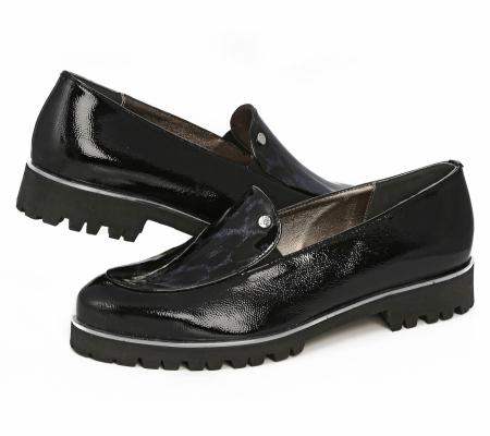 Cango&rinaldi Street 004 Fekete-kék Cipő