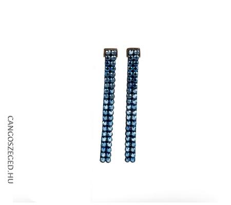 Cr 369 Kék Fülbevaló
