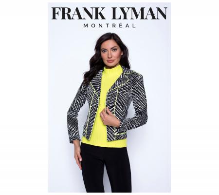 Frank Lyman 201180 Fekete-fehér-neon Zakó