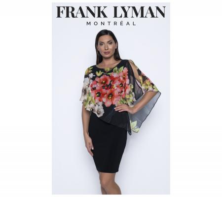 Frank Lyman 196437 Fekete Virágos Ruha